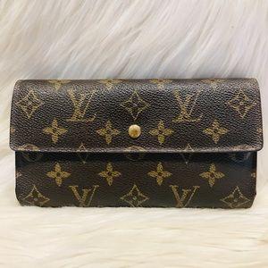 Authentic Louis Vuitton Porte Tresor Wallet #4.3b